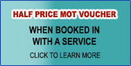 Half Price MOT Offer